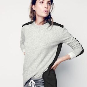 J. Crew Colorblock Sweater Tunic M